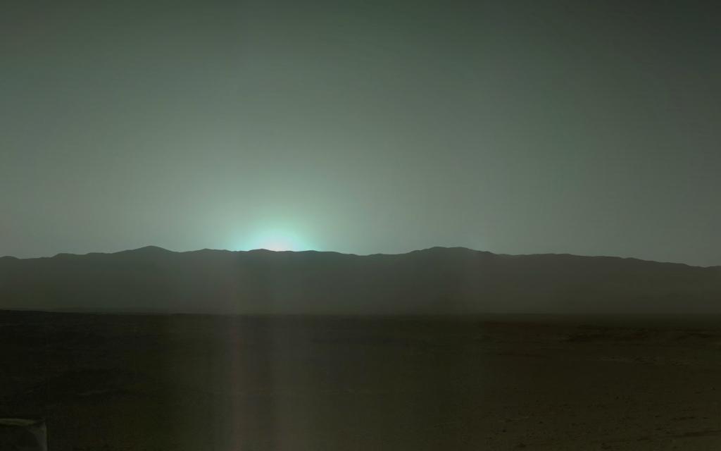 Солнце скрылось за горизонтом, Кьюриосити